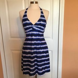 Athleta Tara Swim halter dress 36 B/C NWOT